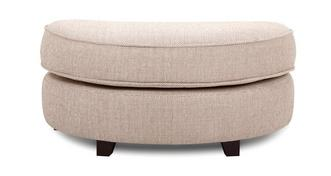 Sutton Half Moon Footstool