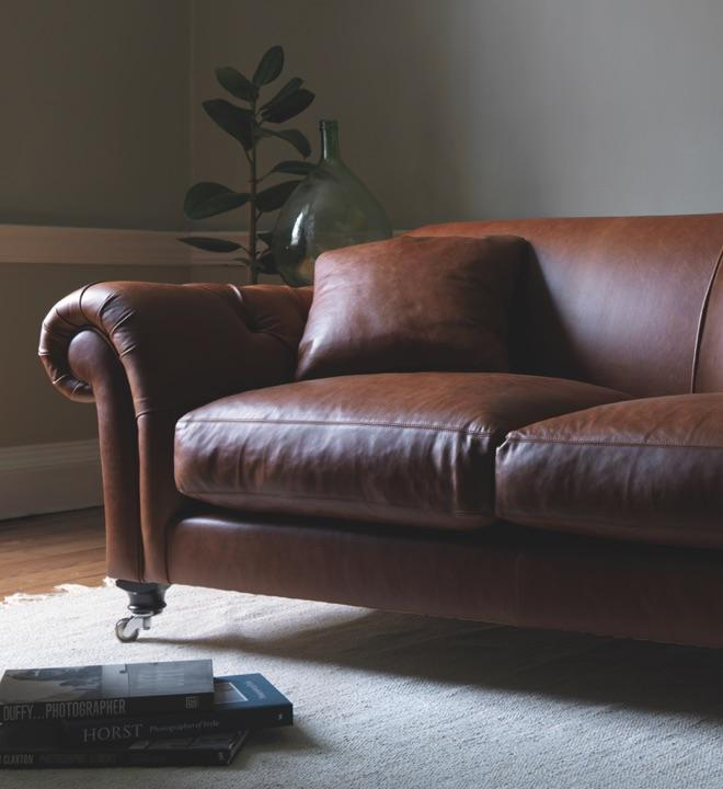 Pull-up Leather Sofas