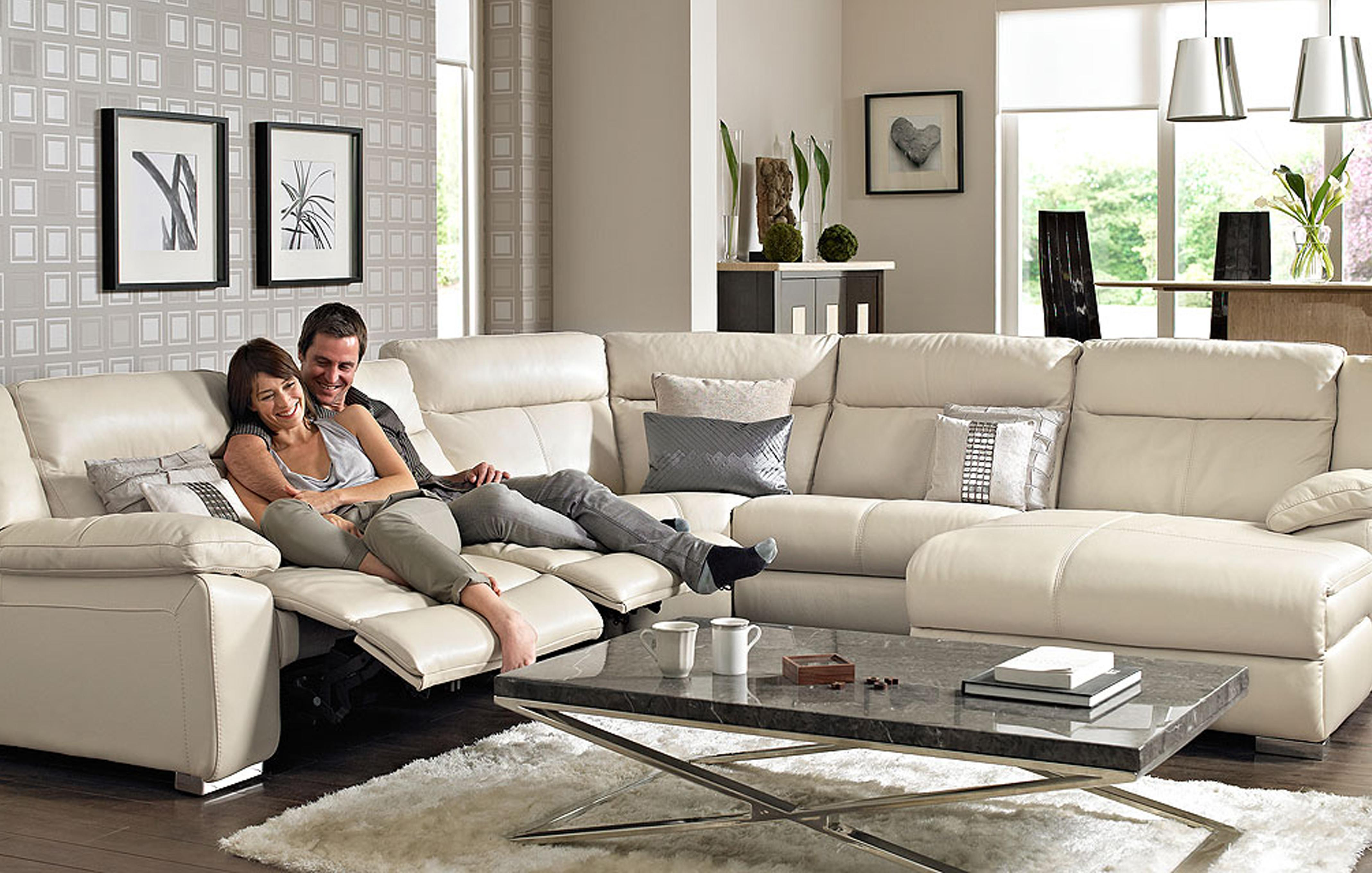 Picture of: Corner Recliner Sofas Dfs Spain
