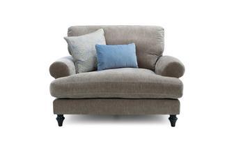 Cuddler High Back Sofa