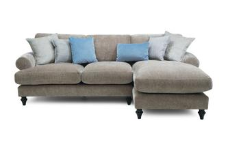 Left Hand Facing 2 Seater Lounger