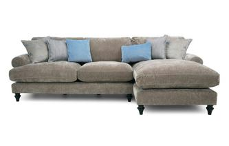 Left Hand Facing 3 Seater Lounger
