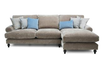 Left Hand Facing 3 Seater High Back Lounger