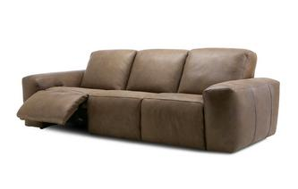 Hand Tipped 3 Seater Power Recliner