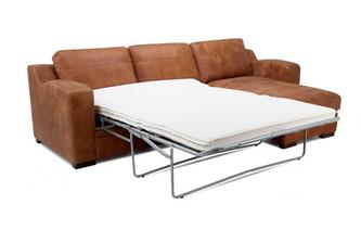 Right Hand Facing Chaise End Storage Deluxe Sofa Bed