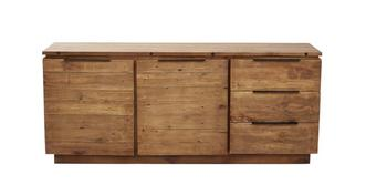 Toronto Large Sideboard with 2 Doors & 3 Drawers