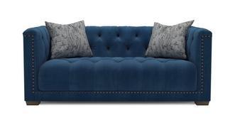 Trafalgar Velvet 3 Seater Sofa