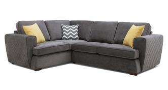 Tryst Right Hand Facing 2 Seater Corner Sofa