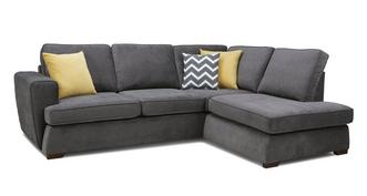 Tryst Left Hand Facing Arm Open End Corner Sofa