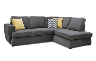 Left Hand Facing Arm Open End Corner Sofa Plaza