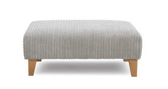 Turner Plain Banquette Footstool