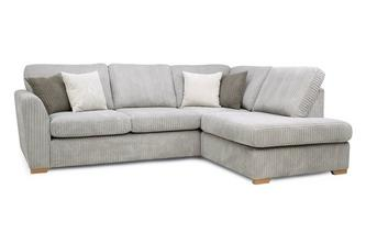 Left Hand Facing Arm Open End Corner Sofa Marley