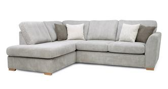 Turner Right Hand Facing Arm Open End Corner Sofa