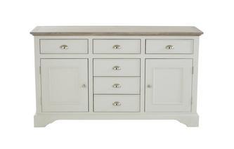 Large 2 Door 6 Drawer Sideboard