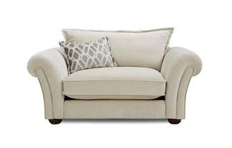 Formal Back Cuddler Sofa