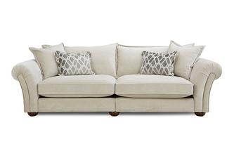 Formal Back 4 Seater Split Sofa
