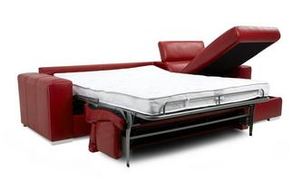 Velocity Right Hand Facing Storage Chaise 3 Seater Sofa Bed ...
