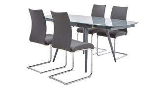 Vibe Extending Dining Table & 4 Chairs