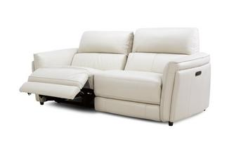 3 Seater Power Recliner with Power Telescopic Headrest
