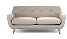 DFS Edd Sofa - Natural Earth