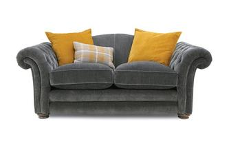 Pillow Back 2 Seater Sofa Warwick Plain