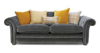 Warwick Pillow Back 4 Seater Sofa