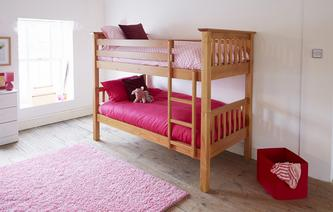 West Bunk Bed Pine