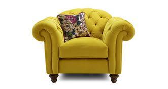 Windsor Velvet Armchair