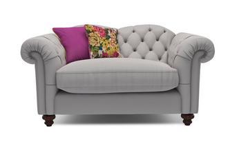 Cotton Cuddler Sofa