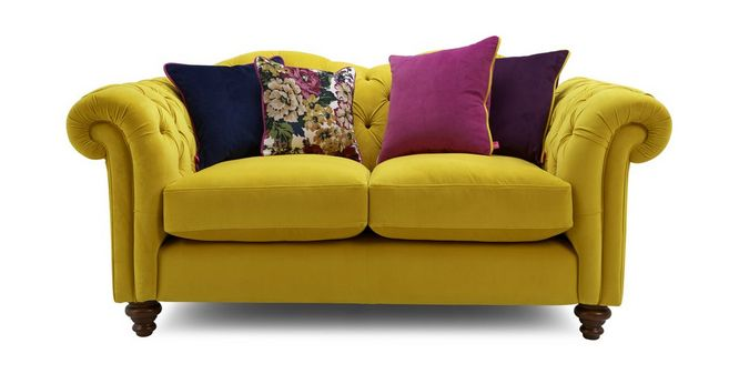 Windsor: Velvet 2 Seater Sofa