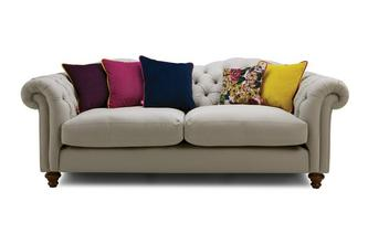 Cotton 4 Seater Sofa