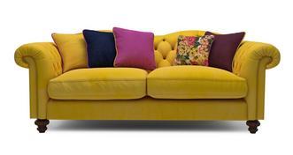 Windsor Velvet 4 Seater Sofa