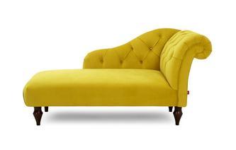 Right Hand Facing Chaise Longue Windsor Velvet