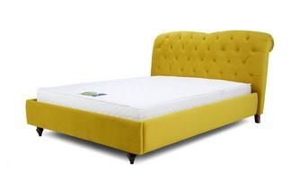 Double Bedframe Windsor Velvet