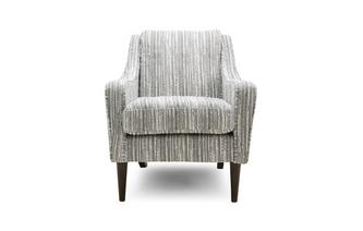 Stripe Accent Chair