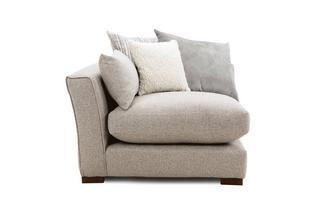 Pillow Back Left Hand Facing Arm 1 Seat Unit