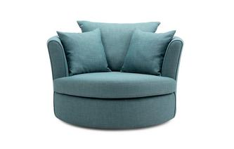 Large Swivel Chair 2 Plain Scatters