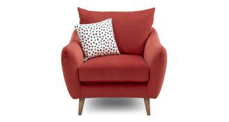 Yoko Velvet Armchair