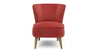 Yoko Velvet Accent Chair