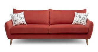 Yoko Velvet 4 Seater Sofa