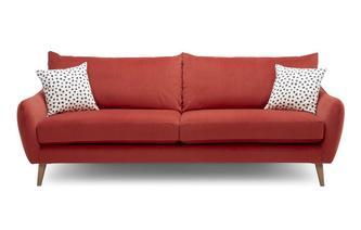 Velvet 4 Seater Sofa Yoko Velvet