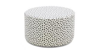 Yoko Pattern Large Round Footstool