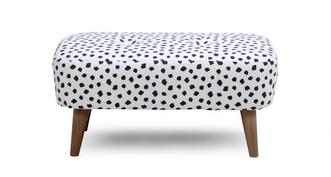 Yoko Pattern Small Bench Footstool