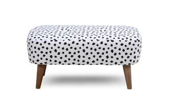 Pattern Small Bench Footstool Yoko Pattern
