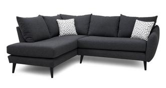 Yoko Right Hand Facing Open End Corner Sofa