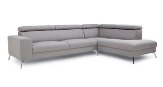 Yvonne LHF 2 Piece Corner Sofa