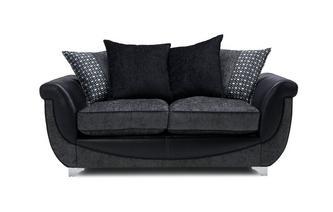 Large 2 Seater Pillow Back Supreme Sofa Bed Zander
