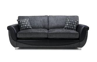 4 Seater Formal Back Sofa Zander