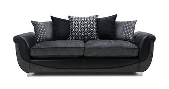 Zander 4 Seater Pillow Back Sofa