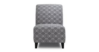 Zania Pattern Accent Chair